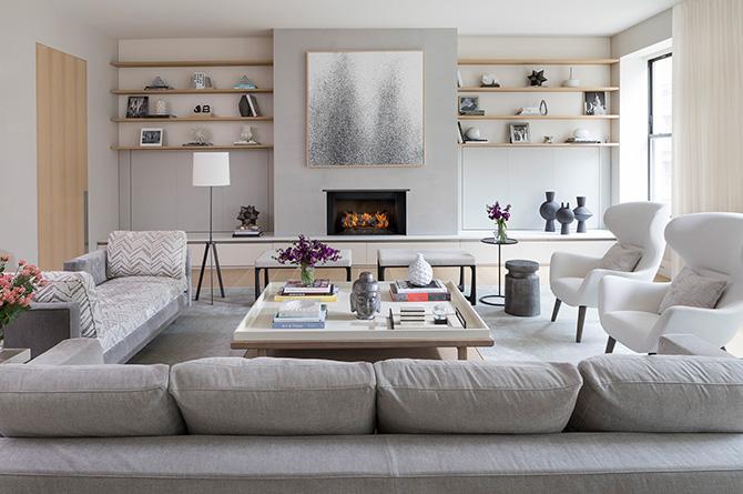 Purvi Padia Tribeca Flat Interior Designer NYC
